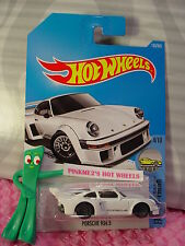 PORSCHE 934.5 #153✰white;gray lace bbs✰Factory Fresh✰2017 i Hot Wheels Case G/H