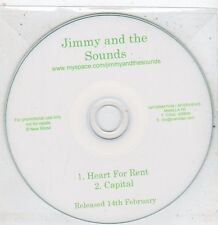 (ET915) Jimmy And The Sounds, Heart For Rent - DJ CD