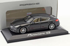 Porsche Panamera 4S Gen II. Baujahr 2014 carbon grau 1:43 Minichamps
