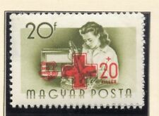 Hungary 1957 Early Red Cross Issue Fine Mint Hinged 20f. 149665