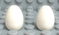 New Lego Lot of 2 Angry Birds Movie White Egg Minifigure Accessory #24946