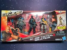 2012 G.I. Joe Retaliation Tactical Ninja Team Agent Mouse Snake Eyes Sgt Airborn