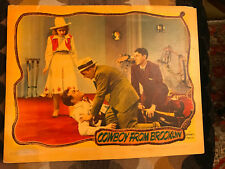 Cowboy From Brooklyn 1938 Warner Brothers  lobby card Ronald Reagen Dick Powell