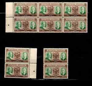 SOUTHERN RHODESIA Block Stamps (Scott #73) 1950  MNH  *XRARE*