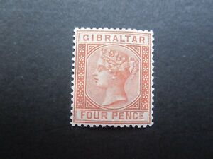 Gibraltar 1887 SG12 Nice Mint-£85.00 in 2018-Post UK-Read all below. Lot 5/6.