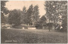 Scene at Idlewild Park in Ligonier PA Postcard 1909 Amusement Park