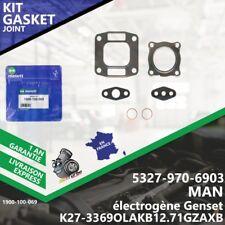 Gasket Kit Joint Turbo MAN électrogène Genset 5327-970-6903 K27 E2842LE322-069