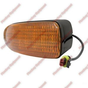Tractor LED AMBER Warning Light for John Deere Compact Industrial RE217551 LH RH