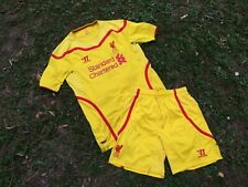 Liverpool Away football shirt 2014/2015 Jersey L Suit Soccer Shorts England