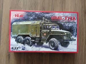 URAL-375A ICM 1/72