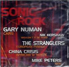SONIC ROCK by Gary Nunan, Stranglers, China Crisis, Others - Sealed CD (2005)