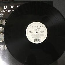 """Juvenile - Bounce Back/Slow Motion (3 Mixes of each)- Cash Money Records 12"""" VG+"""
