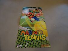 Mario Tennis Nintendo Game Boy Color Foldable Promo Poster Insert ONLY