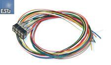ESU 51950 Kabelsatz mit 8-poliger Buchse nach NEM 652, 300 mm Länge - NEU + OVP