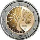 Pièce 2 euros commémorative ESTONIE 2017 - L'Estonie vers l'Indépendance