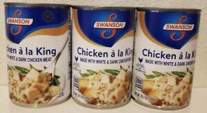 Swanson 3 Cans 10.5 oz Each Chicken a La King