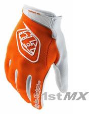 Troy Lee Designs TLD Guantes GP Aire MX Motocross Raza naranja blanco grande de la Juventud
