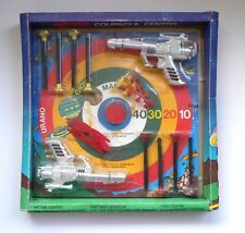 Gherzi STAR BATTLE Space Duel Target Set Ray Gun Dart Pistols MIB 1970's Italy