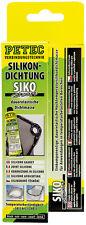 (17,43 €/100ml) PETEC Hochtemperatursilikon 70ml (97780)