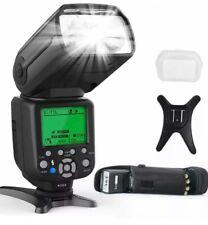 RALENO Flash Speedlight for Canon, Nikon DSLR Cameras, E-TTL & I-TTL Dual Mode