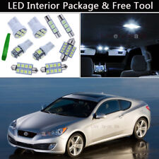 8PCS LED Interior Lights Package kit Fit 2010 & Up Hyundai Genesis Coupe J1