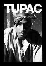 TUPAC - PORTRAIT - FABRIC POSTER - 30x40 WALL HANGING - 2PAC 52184