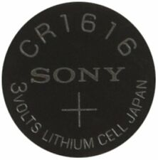 Sony Cr1616 Coin Cell 3V Lithium Watch Battery Made in Japan - Exp 2027 - 5 Pack