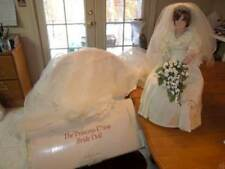 "Danbury Mint ~ Princess Diana 19"" Bride w/6' Train"