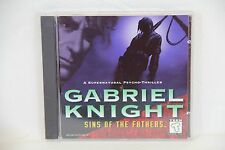 Gabriel Knight: Sins of the Fathers -  CD-ROM for DOS / Windows 3.1 - Sierra
