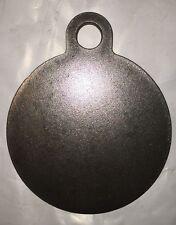 "AR500 Steel Target 4""x 1/4"" Gong Hanger NRA Action Pistol Plate"
