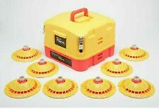 Total Flare  8 LED strobe Flares With Case Emergency Safety Lights