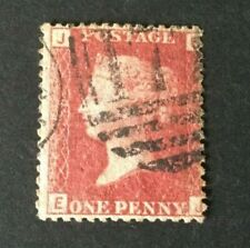 Great Britain: 1864 Penny Red,  Plate 225, Fine used, SG 43/44
