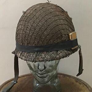 American soldiers helmet of the Vietnam era