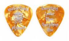 Motorhead Phones Yellow Pearl Guitar Pick