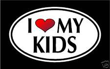 """5.75"""" I LOVE MY KIDS vinyl decal sticker... CHILDERN"""