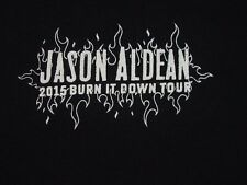 Jason Aldean CREW ONLY T Shirt XL Tour 2015