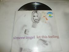 "SIMONE ANGEL - Let This Feeling - 1993 UK 6-track 12"" vinyl single"