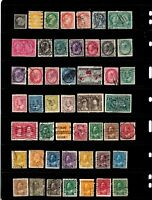 Canada stamps, fabulous group of 48 classics, SCV $174.80