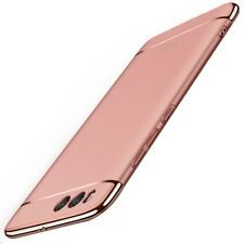Handy Hülle Schutz Case für Xiaomi Mi 6 Plus Bumper 3 in 1 Cover Chrom Rose Gold