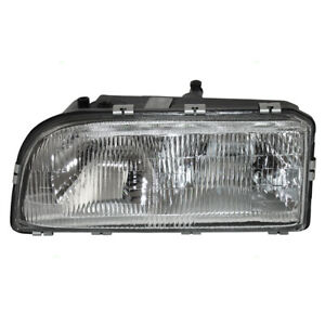 Headlight Assembly fits 1993-1998 Volvo 850 Driver Side Dual Bulb Type Headlamp