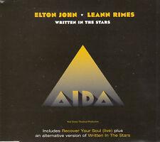 ELTON JOHN LEANN RIMES - Written in the Stars - 1999 CD