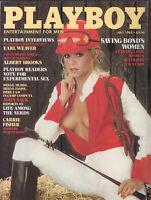PLAYBOY July 1983-James Bond Women, Carrie Fisher, Earl Weaver, Albert Brooks