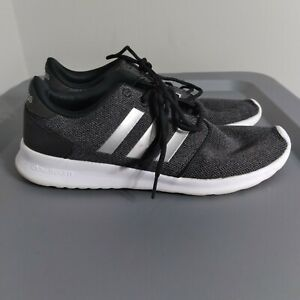 Adidas Cloudfoam QT Racer Women's Size 9.5 Shoes Black/White Athletic Sneakers