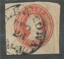 U-1 envelope square used diagonly laid paper..................160731
