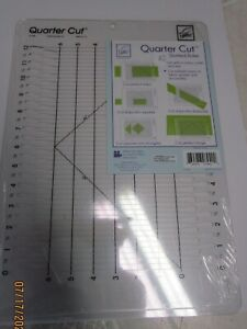 """QUARTER CUT..BY JUNE TAILOR.  16"""" X 11"""""""