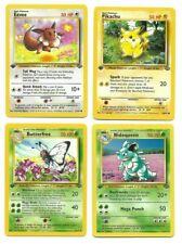 Pokemon 1st edition Jungle Uncommon, Common, You Pick LP