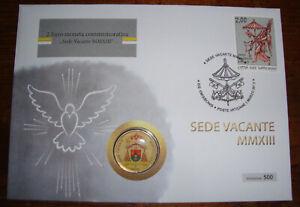 Numisbrief Sede Vacante 2013