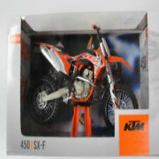 KTM SXF 450 2016 standard factory graphic 1:12 scale diecast model bike toy