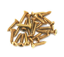 24pcs Genuine Fender GOLD Pickguard Screws for Guitar/Bass 099-4924-000
