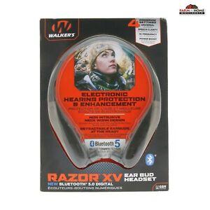 Walkers Razor XV Hearing Protection Ear Bud Head Set Bluetooth ~ NEW
